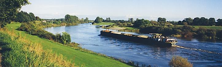 An der Weser im Wesertal