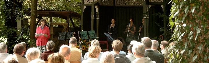 Gartenkulturmusikfestival Musik im Park